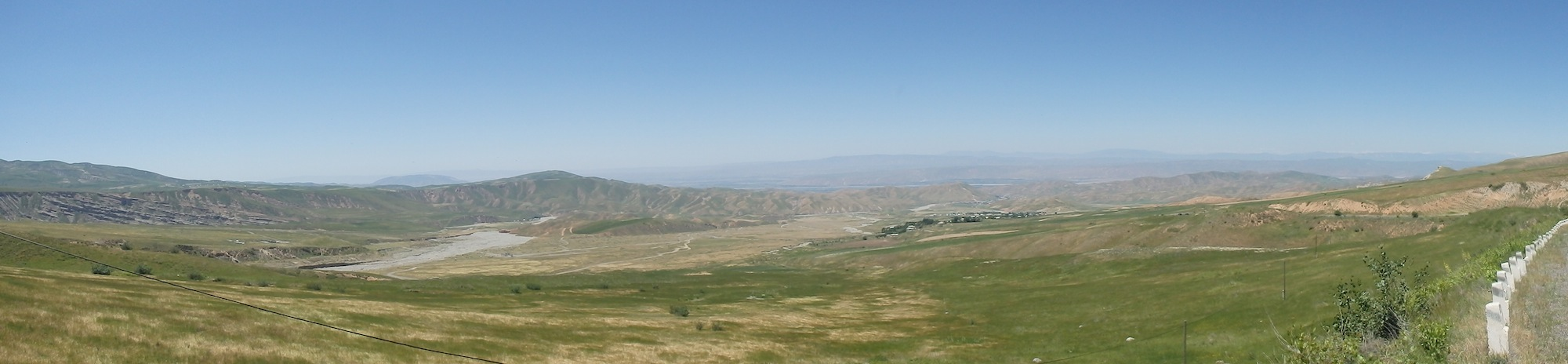 Hazrat-e Shah Mountain Ranges east of Kulob (Tajikistan)