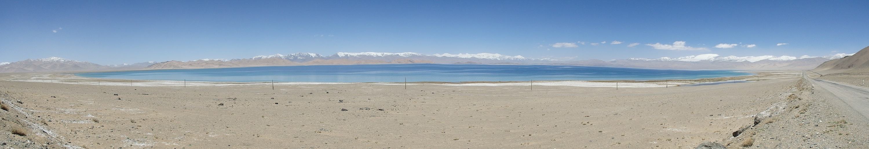 Karakol Lake on the Pamir Highway Ttajikistan)