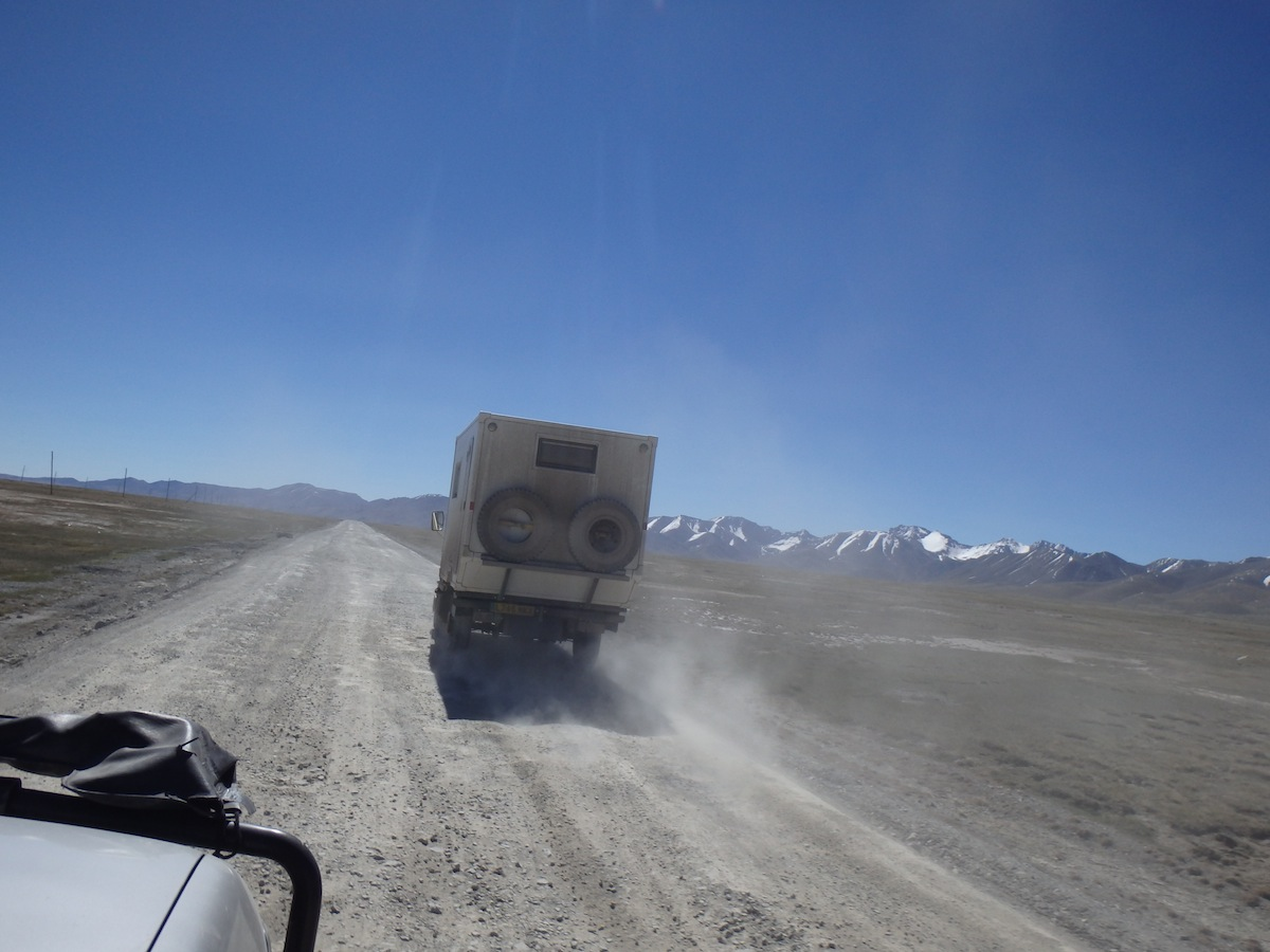 The dodgy road out of Kyrgyzstan