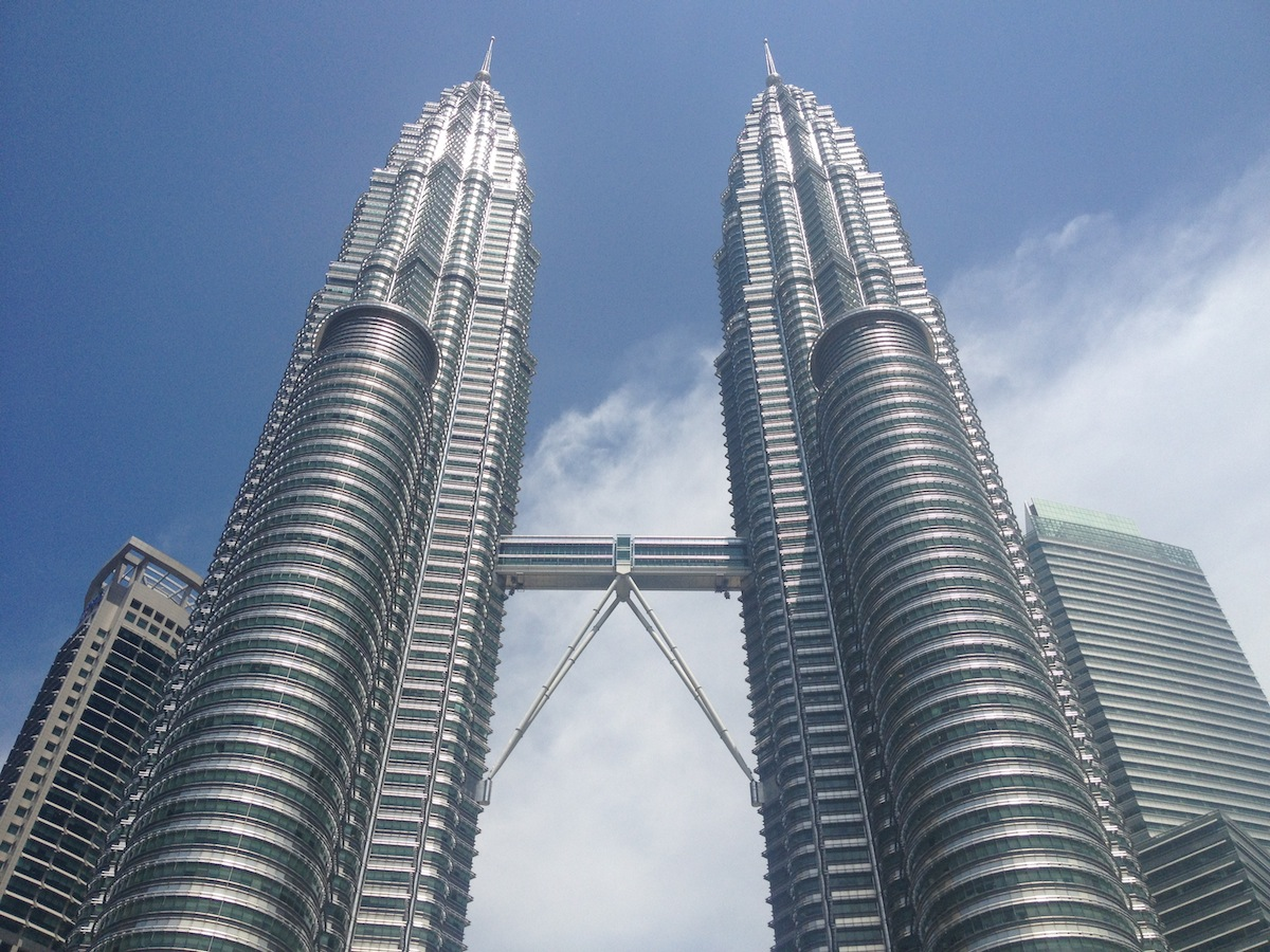 Are those the Petronas Towers? They sure are!! – Leg 3 is complete!!