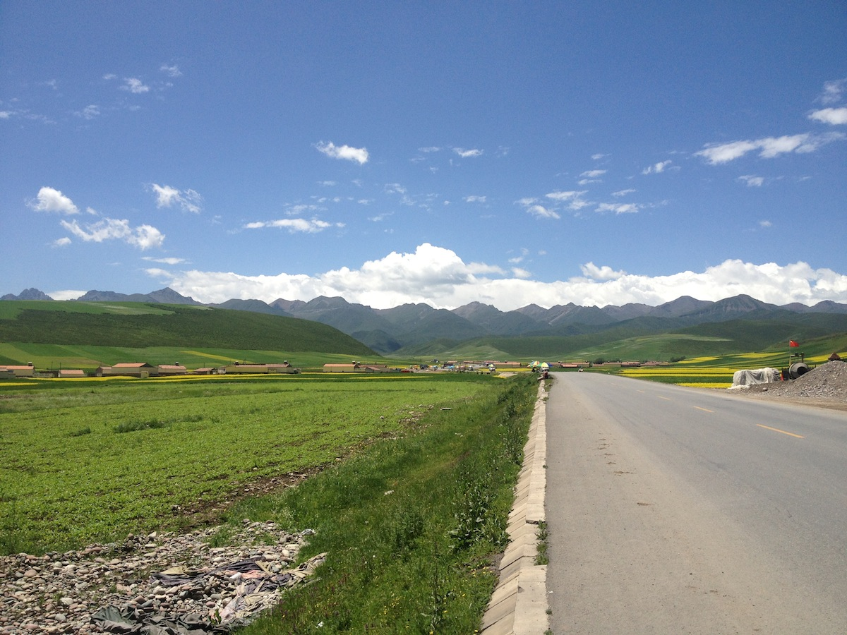 Mountain Scenery (Gansu Province, China)