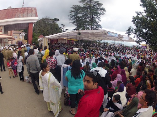 Satguru Baba's ceremony (Shimla, India)
