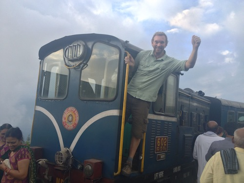 All aboard the Darjeeling Himalayan Express (India)