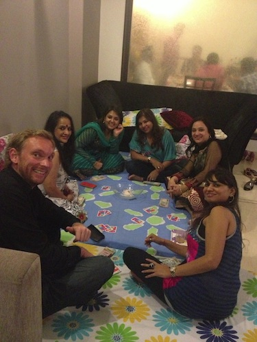 Pre-Dawali Poker with the Ladies (Delhi, India)