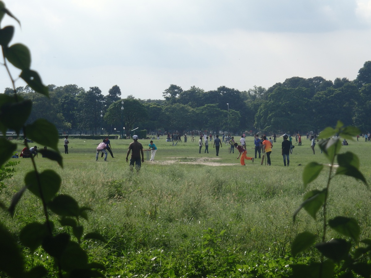 Cricket in the Park (Kolkata, India)