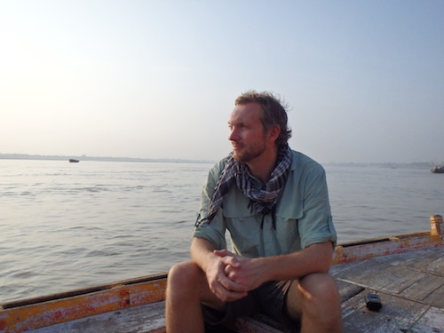 On the Ganges at Sunrise (Varanasi, India)