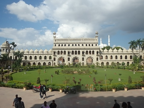 View of the entrance to Baba Imambara (Lucknow, India)