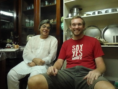 Thaps and me (Lucknow, India)
