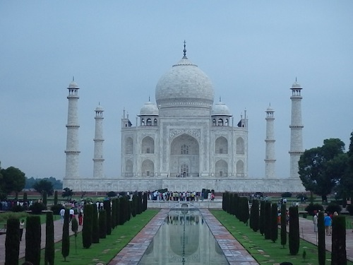 The Taj Mahal (Agra, India)