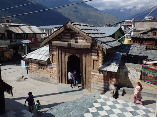 Temple Hot Pools (Manali, India)