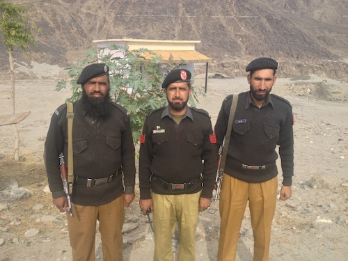 Pakistan Police Escorts (KKH, Pakistan)
