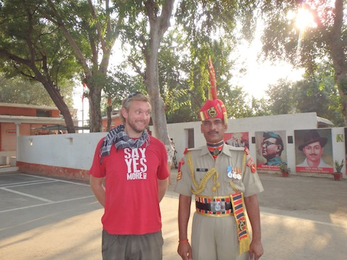 Indian Border Guard (Wagha, India)