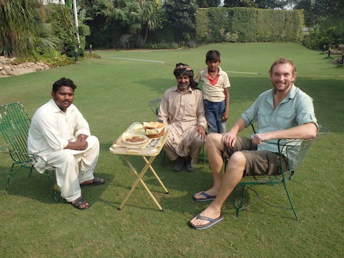 Relaxing in Lahore (Pakistan)