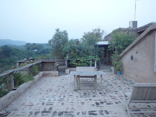 Patio views (Islamabad, Pakistan)