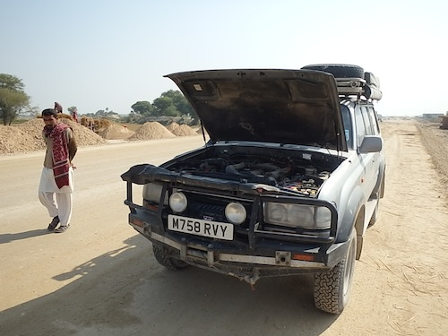 Boris' brake failure (Jacobabad, Pakistan)
