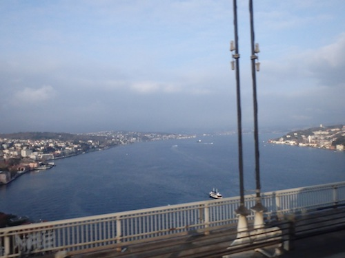 Is that the Bosphorus Straits? It sure is!! – Leg 4 is complete!!