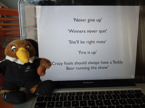 Kiwi Ted's Motivational Speech (Iran)
